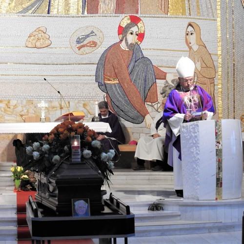 Prisluhni pridigi med sveto mašo za pokojnega prof. Justina Stanovnika