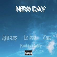 JGlizzy x Dee Watkins x CAM - New Day (Prod. by LoBlo)