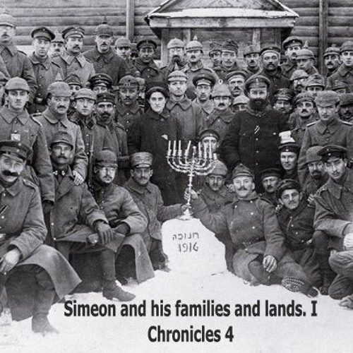 Simeon And His Families And Lands. I Chronicles 4