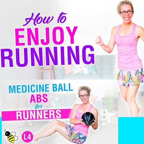 How To ENJOY RUNNING 15 Minute Indoor Run + 5 Minute Medicine Ball ABS Workout