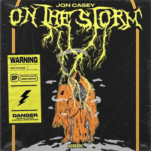 Jon Casey - On The Storm (EP) 2019