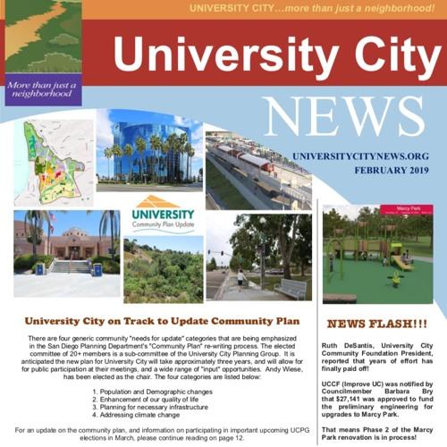 UCCA Newsletter February 2019 Part 1