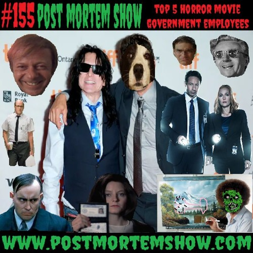 e155 - Uncle Jeff's Happy Clouds (Top 5 Horror Movie Government Employees)
