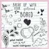 Break Up With Your Girlfriend I'm Bored - Plot Twist & Sachi Rodriguez Portada del disco