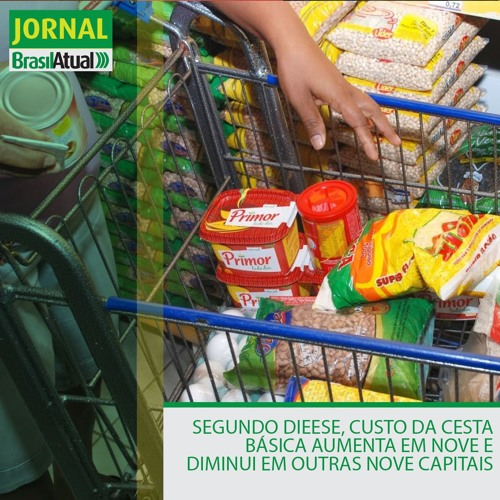 Segundo Dieese, custo da cesta básica aumenta em nove e diminui em outras nove capitais