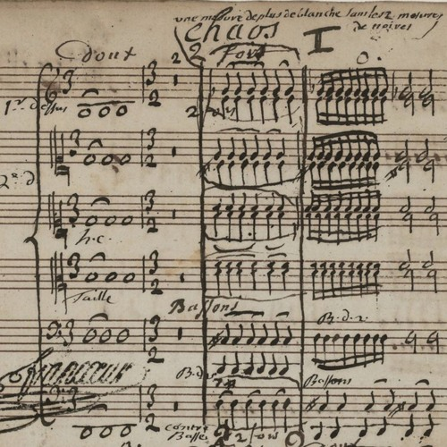 <Le Cahos> J.F.Rebel (1737), transcription for ensemble (2018)