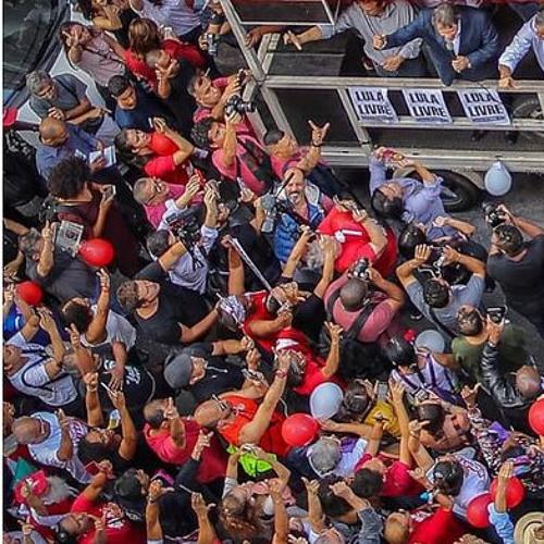 Manifestantes de sete estados vão às ruas para denunciar nova sentença contra Lula