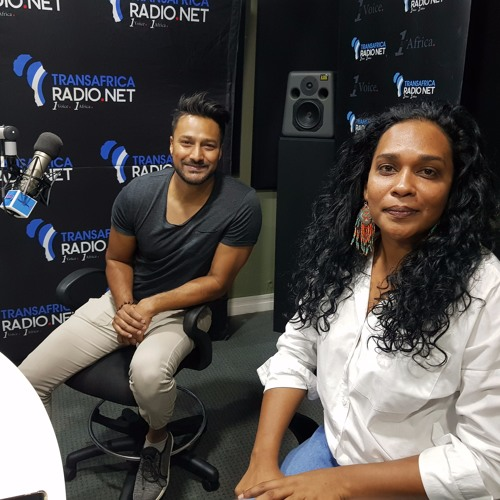 South African Movie Director Bianca and cast member Ashis On UToPIA With Kea 07/02/2019