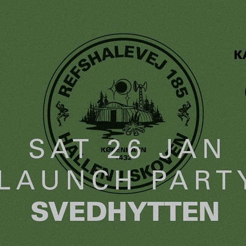 Opening Set at the Svedhytten Launch Party, Copenhagen
