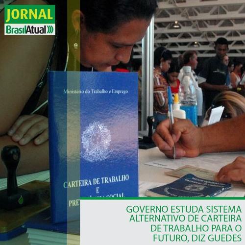 Governo estuda sistema alternativo de carteira de trabalho para o futuro, diz Guedes