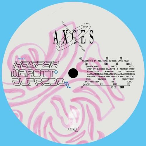 """Alfredo92 & Kasper Marott - Os To (Johnny DJ All Star Bubble Gum Mixie) """"""""OUT MID APRIL"""""""""""
