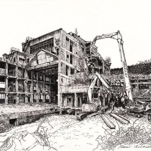 La Rhodia : Dernières heures des bâtiments : Marion Chombart de Lauwe