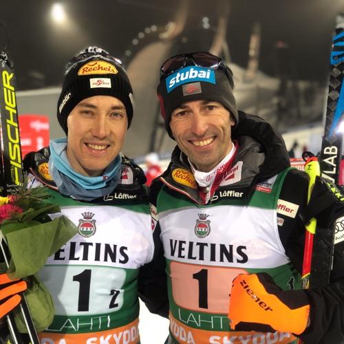 ÖSV I Mario Seidl und Willi Denifl - Teamsprint Lahti I 09.02.2019