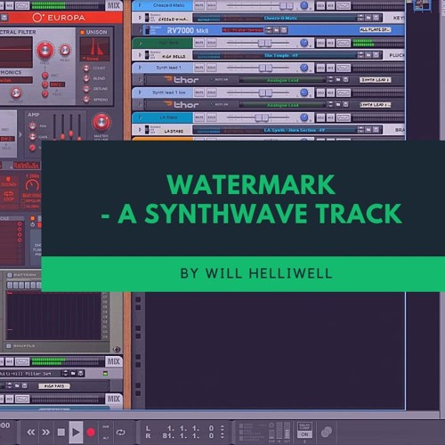 Watermark - A Synthwave Track