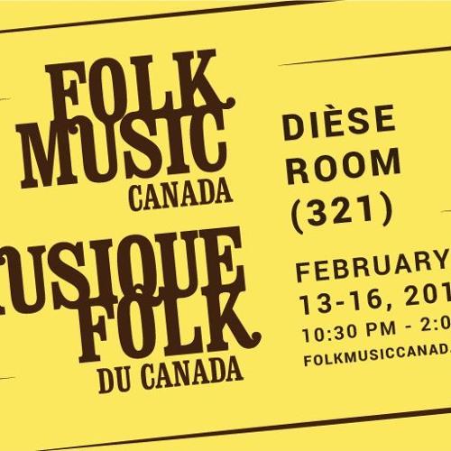 Folk Music Canada at FAI 2019 Playlist