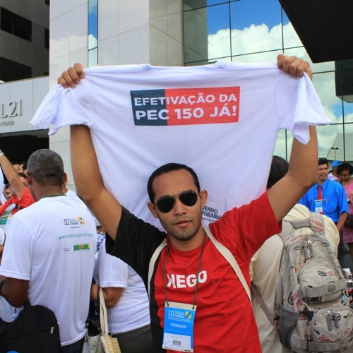 Manifestação pela PEC 150/03