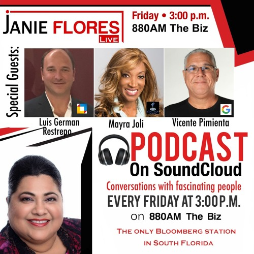 Janiefloreslive Chats W Luisgerman Restrepo Vicente Pimienta Mayra Joli 02 08 19 By Janie Flores Live On Soundcloud Hear The World S Sounds