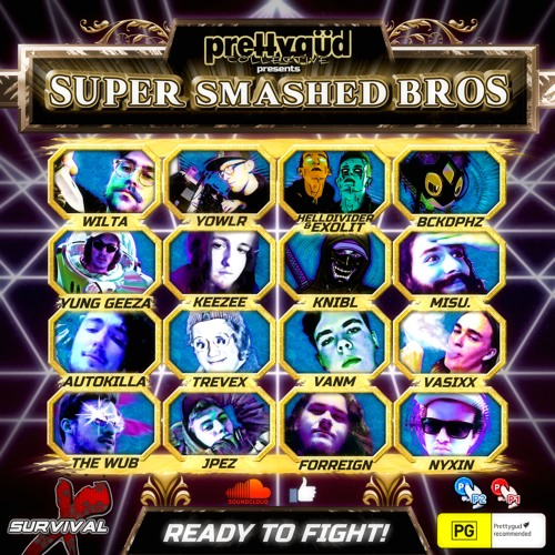 VA - SUPER SMASHED BROS (LP) 2019