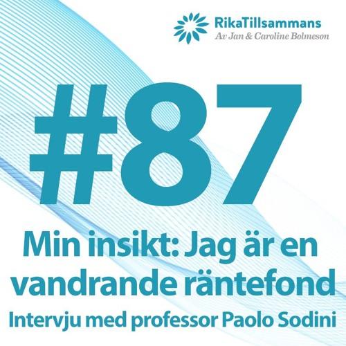 #87 - Min insikt: Jag är en vandrande räntefond...   Intervju med professor Paolo Sodini