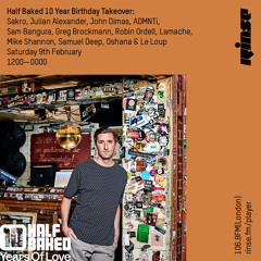 Half Baked Records 10 Year Birthday Takeover: Mike Shannon - 9th February 2019