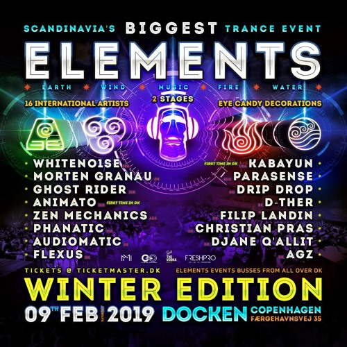 Dj set @ Elements Winter Edition 9/2/2019