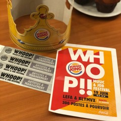 Reportage : Whoop Festival - L'équipe Burger King En Charge Du Recrutement [Mediameeting - 2018]
