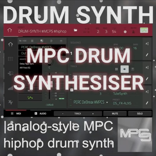 DRUM SYNTH - HIPHOP SET