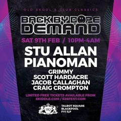 Carl Pianoman BBDD @Blackpool 09 feb