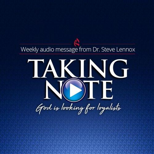 Taking Note - Week 24