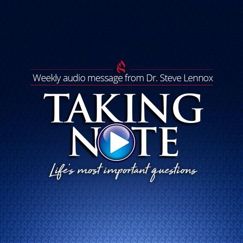 Taking Note - Week 33