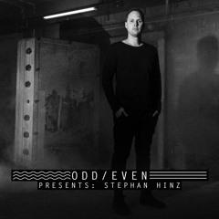 ODD EVEN PRESENTS 013 - Stephan Hinz