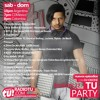 all the songs that sound on tu party are free download on soundcloud search them and download them