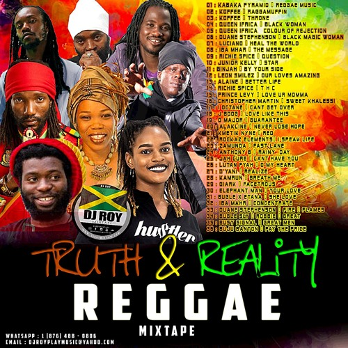 DJ ROY TRUTH & REALITY REGGAE MIX 2019 by DJROYMIXTAPE