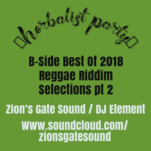 2018 best of Reggae B-Side part 2