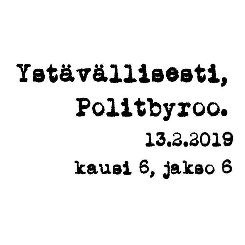 VM:n virkamiespuheenvuoro, sote/hoiva/kokoomuksen viestintä, perustuloraportti – 13.2.2019