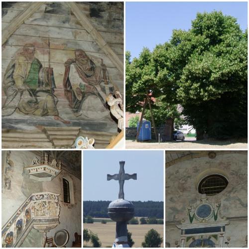 Verstecktes Kleinod: Dorfkirche Berge, die sixtinische Kapelle der Altmark