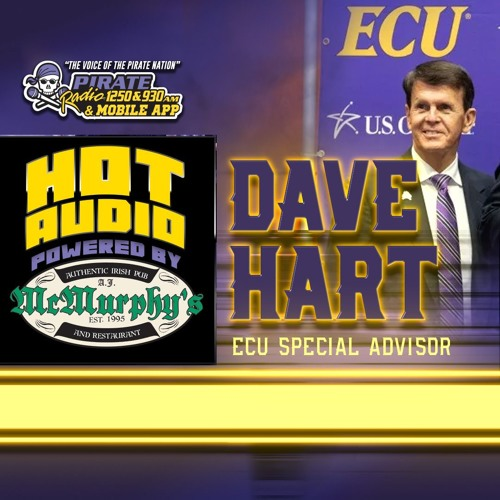 HOT AUDIO: ECU Athletics Special Advisor Dave Hart joined Troy on Pirate Radio Live 021319