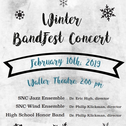 Winter BandFest Concert 2019