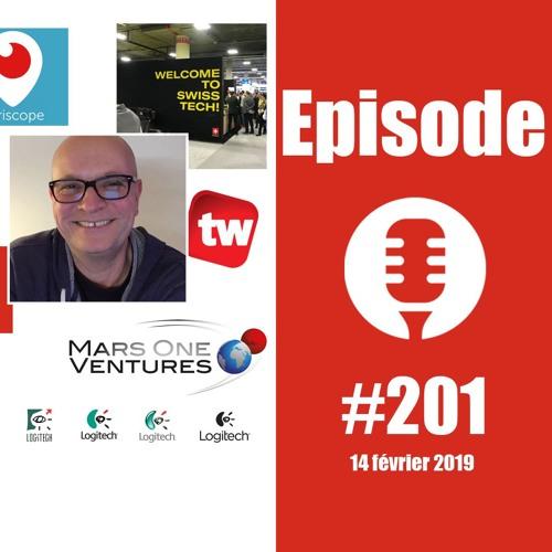 #201: Spécial technologie en Suisse avec Thierry Weber