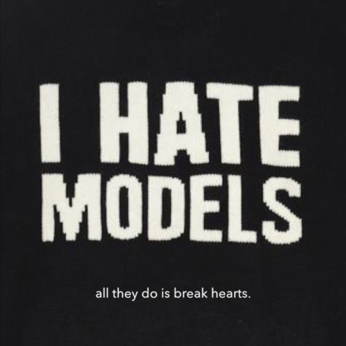 I HATE MODELS