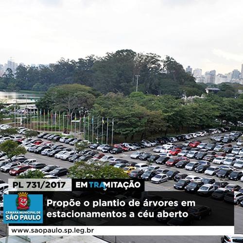 15.02.2019 - Projeto prevê árvores em estacionamentos para melhorar qualidade de vida em São Paulo