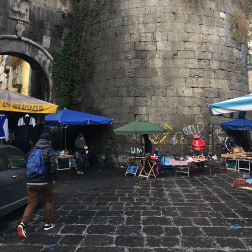 [Useless Sounds] - The market at Porta Nolana, Napoli, and surrounding, 29 January 2019