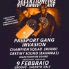 PASSPORT GANG LIVE IN SALENTO, ITALY @ SELEKTION FIRE ANNIV. (FEBRUARY 9th 2019)