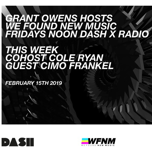 WFNM 2-15-19 Co-Host Cole Ryan - GUEST - Cimo Frankel