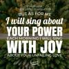 Word On The Way For 02 - 23 - 19- Psalm 59 - 16 (Jordan Feliz)