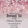 Tania sweet 16 birthday bash cd making