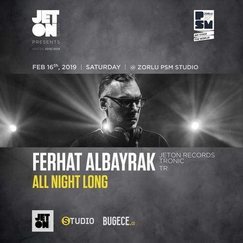 Ferhat Albayrak Live All Night Long at Zorlu PSM Studio 16.02.19
