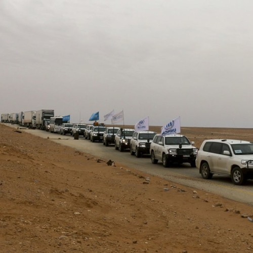 What's on at the UN? The biggest UN humanitarian convoy in Syria