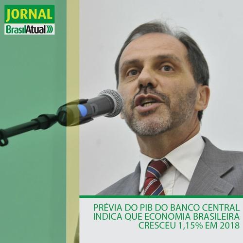 Prévia do PIB do Banco Central indica que economia brasileira cresceu 1,15% em 2018
