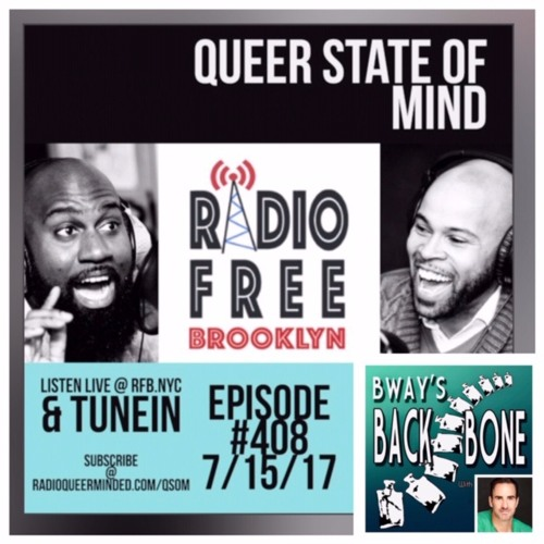 Broadways Backbone on QUEER STATE OF MIND radio